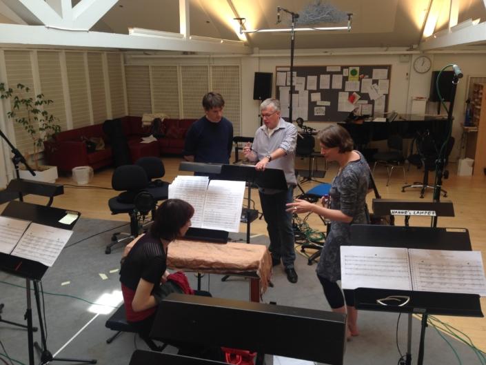 Foto van Studium Chorale in studio in Denemarken