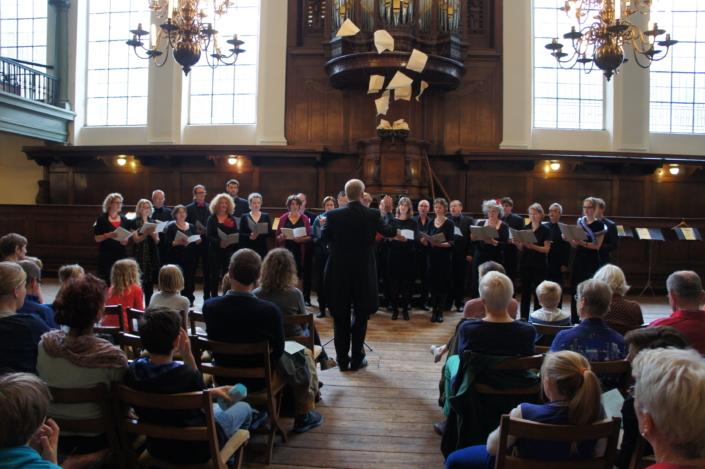 Foto van koor Photonen tijdens Kinderconcert 2013