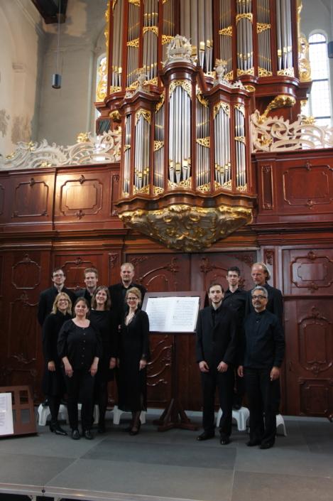 Foto van Ensemble Hermes op Festival Oude Muziek 2013