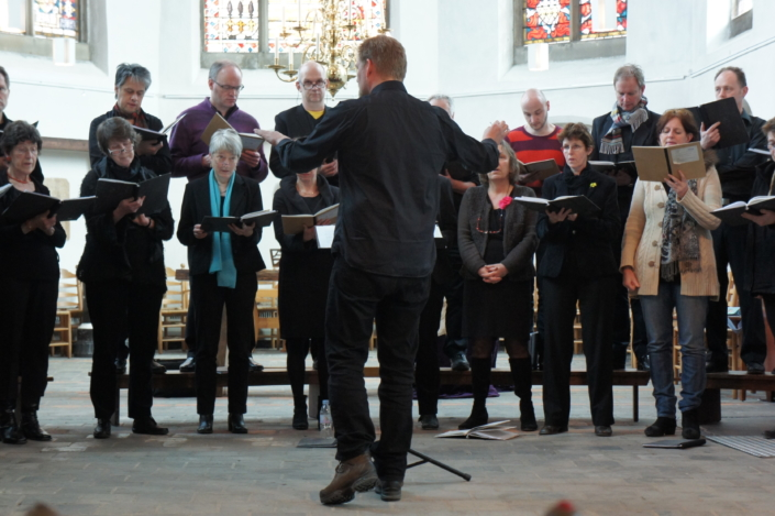 Foto van Utrechts Vocaal Ensemble in 2013