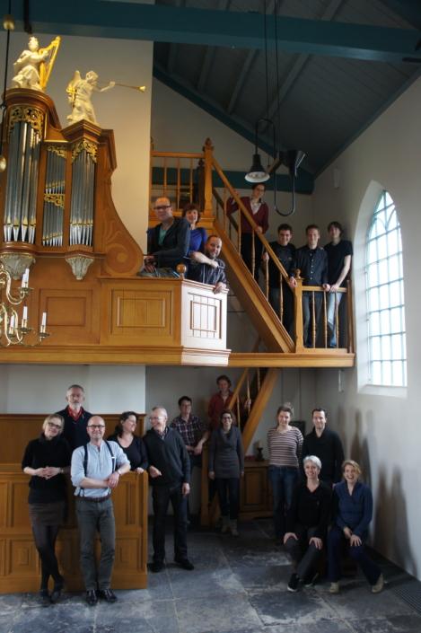 Foto van koor Photonen in 2012