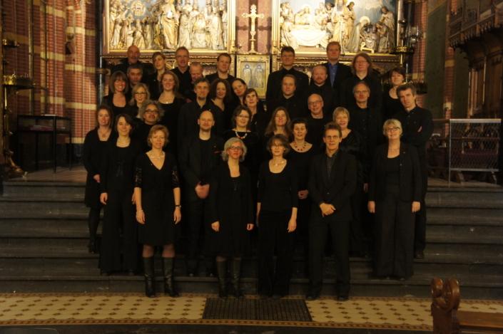 Foto van koor Fenix in 2012